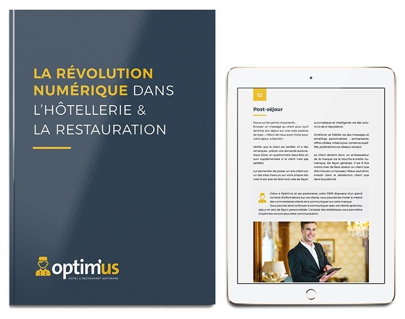 Le livre blanc « La révolution numérique dans l'Hôtellerie-Restauration » (15 pages)